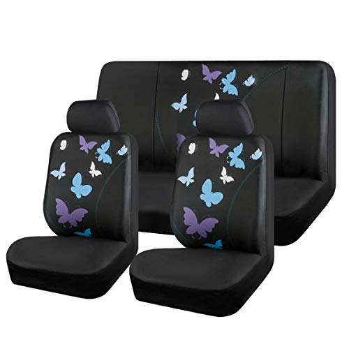 girl car cover seat set - 3