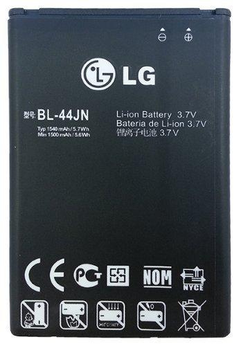 C61700012 BL-44JN 1500mAh Original OEM Battery for the LG MyTouch/E739/Marquee/VS700/Enlighten/Connect - Battery - Non-Retail Packaging - Black ()