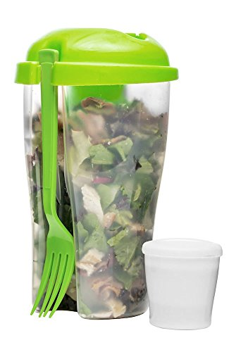 Fresh 27 Oz. Salad To Go Container Color: (Sagaform Green)