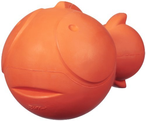 JW Pet Company Ruffians Fish Dog Toy, Large (Colors Vary) by JW Pet