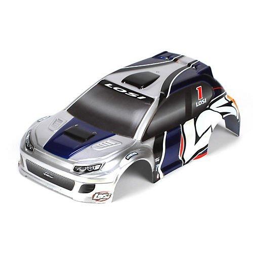 1/24 4WD Rally Painted Body, Silver/Blue [並行輸入品]   B01KBR31DY