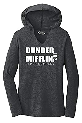 Comical Shirt Ladies Dunder Mifflin Paper Company Funny TV Show Hoodie Shirt