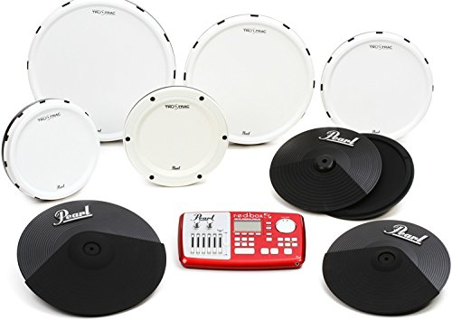 Pearl Tru-Trac Electronic Drum Set Conversion Pack - 12'', 13'', 14'', 16'', BD