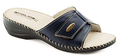 1713 Regolabile Donna Tiglio Pantofola Blu fT6FEq6