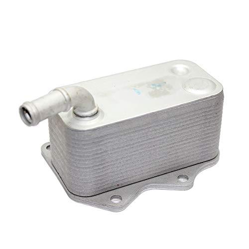 (Engine Oil Cooler For VW Golf Eos GTI Jetta Passat Audi A3 A4 TT 2.0T 06D117021C )