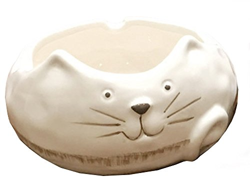 Price comparison product image Multi 3D Animal Ceramics Ashtray Flowerpot Home Decor-Cat / Rabbit / Bear / Chicken / Fairy
