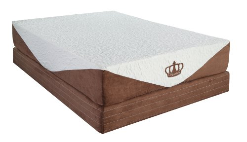 DynastyMattress 10-inch CoolBreeze Gel Memory Foam Mattress-E-King Size
