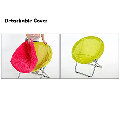 Marvelous Genubi Saucer Chair Removable Cover Foldable Indoor Outdoor Forskolin Free Trial Chair Design Images Forskolin Free Trialorg