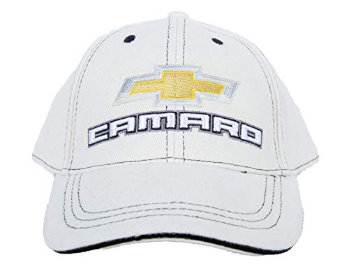 A&E Designs Chevy Camaro Adult Hat Cap (Bone (Off White))
