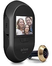Brinno Peephole Camera Home SHC500 Security Long-Lasting Battery DIY Install LCD Screen Black