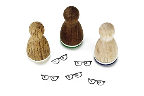 Stemplino Mini Stempel Brille