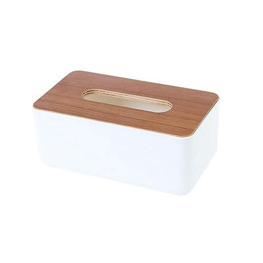 Caja de pañuelos - caja de pañuelos de papel creativa bandeja de ...