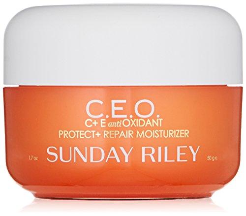 Sunday Riley C.E.O. C Plus E Antioxidant Protect Plus Repair Moisturizer, 1.7 Fl Oz