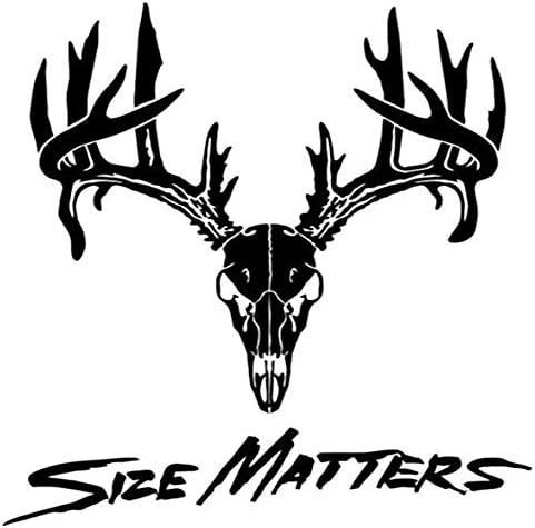 Bone Collector Sportsman Hunting Printed Decal Sticker – 5″ Sticker for Cars Windows Notebooks Lockers Etc – The Super Cheap