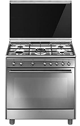 Smeg SX91M9 Independiente Gas hob A Acero inoxidable ...