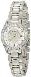 Jacob Time 96R133 Bulova Diamond Ladies Watch