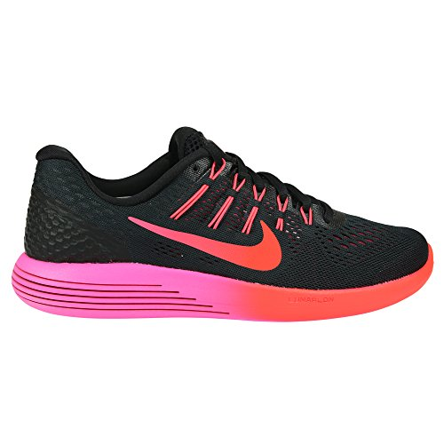 factory price 97454 3e6ce Galleon - Nike Womens Lunarglide 8 Running Shoes Black Multi Color Red  843726-006 Size 8.5