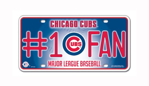 MLB Chicago Cubs #1 Fan Metal Tag