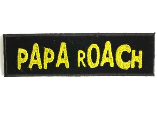 papa-roach-gold-logo-shirt-jacket-patch-sew-iron-on-embroidered-sign-badge-approx-5128cm-x-approx-14