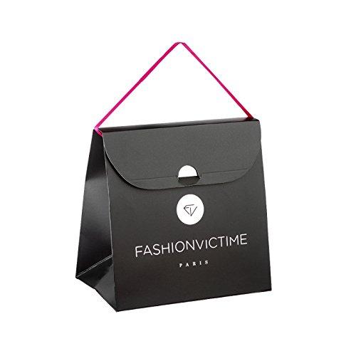 """Fashionvictime - Parure Femme - """"Tsarine"""" - Plaqué Or - Cubic Zirconium (Cz) - Bijou"""