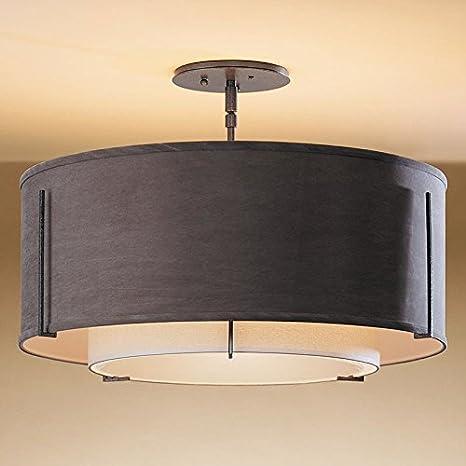 Moderno Round plástico lámpara de techo bonita Leuchten ...