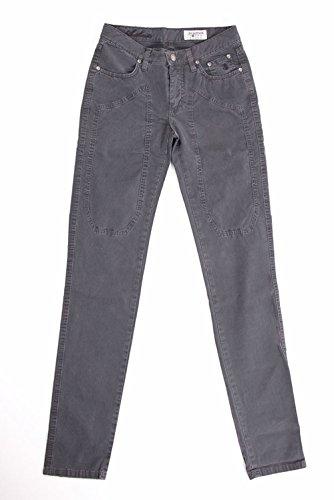 Donna JECKERSON 23PCJDPA15ST00091GREY Jeans Grigio Cotone Pg5fZwgq