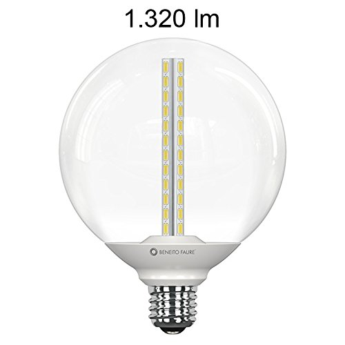 OPPO GLOBO TRANSPARENT 13W E27 220V 360º LED de Beneito Faure - Blanco muy cálido, E27, 13W: Amazon.es: Iluminación