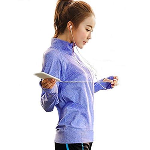 780a90ca12b Senchanting Plus Size Full Zip Workout Jacket With Thumb Holes Yoga  Sweatshirts