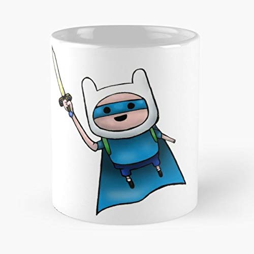 Adventuretime Fan Art Sketch Superhero - 11 Ounce For Coffee, Tea, Cocoa And Mulled Drinks, The Best Gift - Heroes Sketches Super