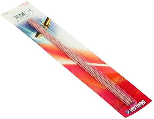 Landi Herramientas Metales D apporto Barrette aleación cobre Fosforo Soldadura Soplete Blister de 10pz L=30 cm