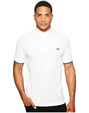 Men's Polo Shirt with Button Down Collar!
