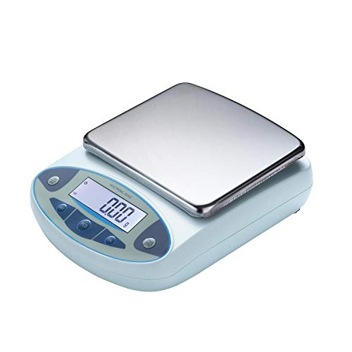 RESHY High Precision Lab Scale Digital Analytical Electronic Balance Laboratory Lab Precision Scale Scientific Scale 0.01g Accuracy 110V (1000g,0.01g)