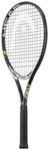 HEAD MXG 3 Tennis Racquet, 4 3/8″ Unstrung Black/Silver