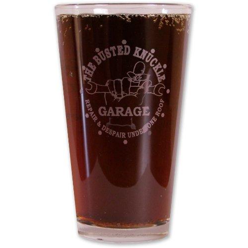 Busted Knuckle Garage BKG-87 BKG Pub Glass