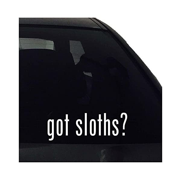 Decal Got Sloths? Vinyl Sticker -