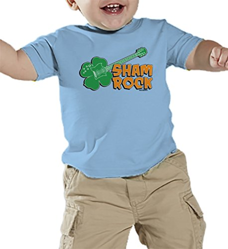 Toddler Infant Shamrock Guitar Rockstar