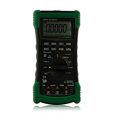 Mastech MS8240D Handheld Auto Range LCD True-RMS Digital Multimeter DMM With USB
