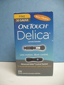 One Touch Delica 30 Gauge Lancets