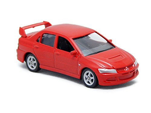 Mitsubishi Lancer Evolution IX Red 3-inch Toy Car