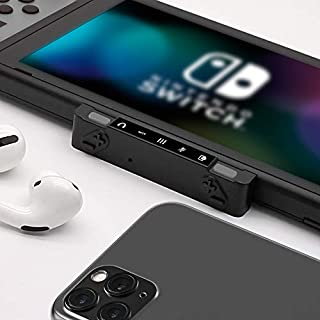HomeSpot Bluetooth Adapter Pro, 2-in-1 USB-C Audio Mixer for Nintendo Switch/Lite, Mixing Audio + Voice Chat from Switch and Smartphone, for Bluetooth Headsets AirPods Pro, Bose, Sony, Jabra and More