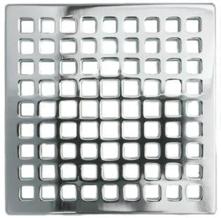 Newport Brass 233 401/24 Decorative Drains 4u0026quot; Square Shower Drain Grid,