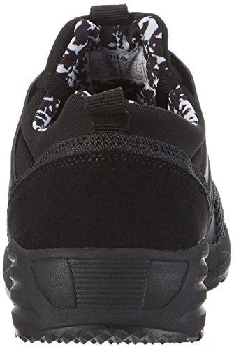 Fila Men Face Striker Low - Zapatillas de casa Hombre Negro (Black/Black)