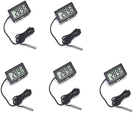 hiletgo LCD Digital nevera termómetro la temperatura del agua ...