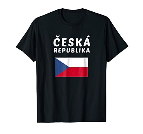 Czech Republic Ladies (Czech Republic T-shirt Czech Tee Flag souvenir Gift)