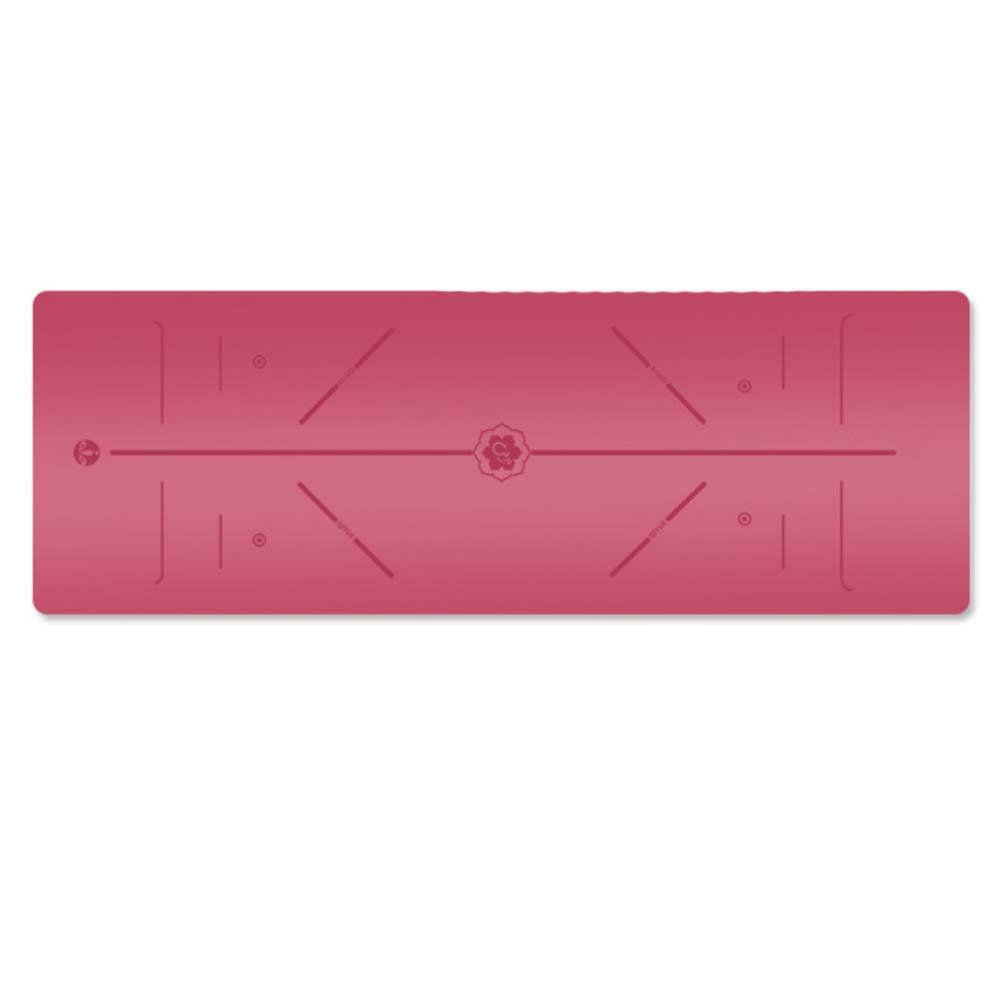 Sweety Sport-Yoga-Matte Natürlicher Kautschuk-Anti-Rutsch-Yoga Matte Fitness Sport 183  68  0.5 cm