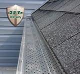 """A-M Aluminum Gutter Guard 5"""" - 100 feet"""