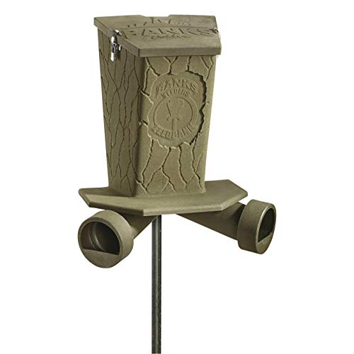 Banks Outdoors Feed Bank Gravity Feeder, 40 lb. Capacity