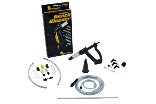Jetta Gt Brake (Phoenix Systems (2005-B) Bench Brake Bleeder Kit, One Person Bleeder, Fits All Makes and Models)