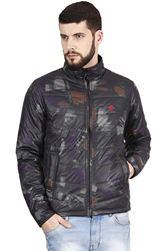 Forest Club Men\'s Solid Quilted Jacket