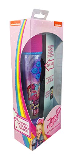 eKids JoJo Siwa Sing Along MP3 Microphone with Built in Sound Effects Can Connect to Your MP3 Player and Sing to Whatever You Like by eKids (Image #7)